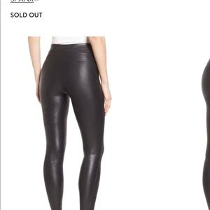 SPANX Pants - SPANX Faux Leather Leggings